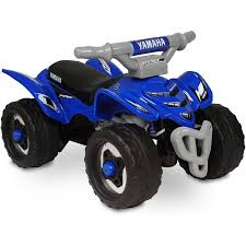 yamaha atv. yamaha ftf raptor atv ride-on, blue atv