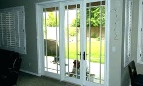 cost to replace sliding door with french doors replacement glass replacing costco blinds sli