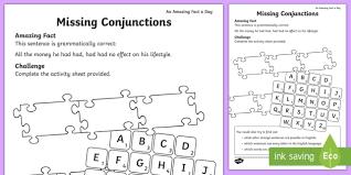 conjunctions ks2 word matchmaker
