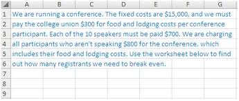 college selection spreadsheet use a handy new feature to add instructions to your excel 2007