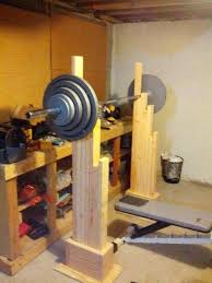 homemade squat and bench rack my homemade squat and bench rack cost few hours to make
