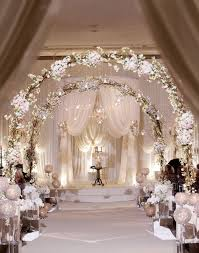 indoor wedding arches. gorgeous indoor wedding aisle decor ideas arches