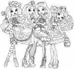 Раскраски для девочек эвер афтер