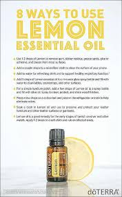 doterra diy doterra lemon essential oil uses with diy and food recipes