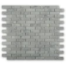 splashback tile white carrera 12 in x 12 in x 8 mm marble floor