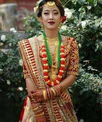 pin by honey webster on w e d d i n g _ p a r t 2 pinterest Nepali Wedding Jewellery nepali wedding tradition nepal marriage bride makeup simple nepali bridal jewellery