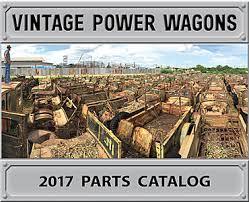 vintage power wagons vintage dodge truck online parts catalog online edition
