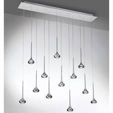 pendant ceiling lighting. Axo Light Fairy SPFAI12RGRCRLED Grey Pendant Ceiling Lighting R