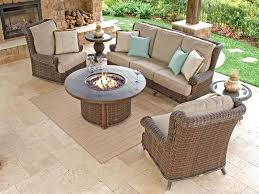 expert wicker fire pit table e4625960 agio marietta gas with side tables p99