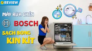 Máy rửa chén Bosch: Máy cứu rỗi chị em, thương hiệu Đức (SMS63L08EA ) •  Điện máy XANH - YouTube