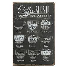 Coffee Menu Interesting Vintage Coffee Bar Menu Top Trends Market