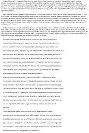 organ donation essay title docoments ojazlink transplant essay organ donation essay title