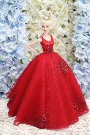 197 Best Barbie Dresses Images On Pinterest Dolls Figurines And