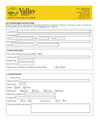 car insurance quote free auto insurance quote form auto and health insurance
