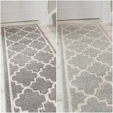 details about long thin hallway hall runner geometric trellis design living room floor rug