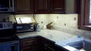 under cabinet lighting led strip jeffery court icelandic pencil tile backsplash led under cabinet lighting makes