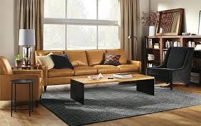 Alluring Light Brown Leather Sofa Decorating Ideas Living Room Ideas
