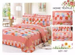 Cotton quilting quilts cheap bedspread Europe modern bedcover ... & Cotton quilting quilts cheap bedspread Europe modern bedcover summer hotel  bed set wholesale embroidery flower washable Adamdwight.com