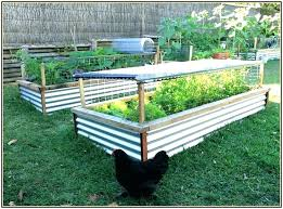 round corrugated metal garden beds galvanized steel raised bed planter boxes