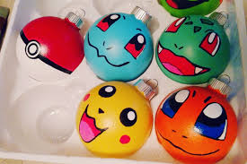 Pokemon Christmas Ornaments price is PER ornament