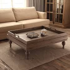 wooden tray for coffee table image collections table furniture