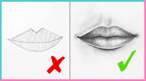 dos don ts how to draw realistic lips
