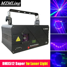 Laser Light Party Machine Us 329 0 1w Powerful Super Laser Light Dmx512 Stage Laser Light 20kpps Dj Bar Party Led Effect Light R638nm G532nm 450nm Stage Machine In Stage