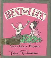 Best of Luck by Brown, Myra Berry: Very Good Hard Cover (1969) First  Edition. | Picture Book Cottage