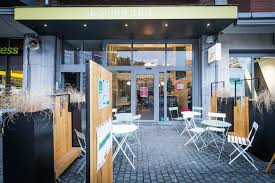 whenever you re in the centre of leuven and in the need for some vegan fastfood the loving hut veganerie is the place to be everything is 100 vegan