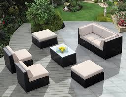 modern wicker patio furniture. Modern Furniture : Wicker Patio Compact Vinyl .