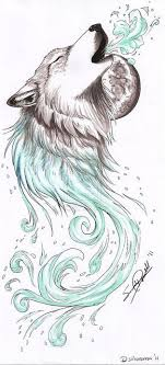 howling wolf drawing tattoo. Perfect Howling Howling Wolf Tattoo  Shops Pictures Symbol Tattoos For Strength  Designs Inside Drawing O