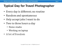 Typical Day For Travel Photographer With Jon Carmichael