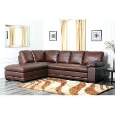 abbyson leather sectional cooper top grain leather sectional abbyson austin leather sectional