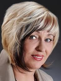 جعل قصة شعر جميلة للنساء 46 سنة قص شعر وعمر ما هي قصات