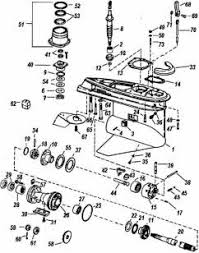 Omc Stern Drive Propeller Chart Omc Parts 400 800 Omc Exploded View Outdrive Drawing