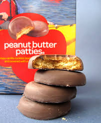 Girl scout cookies with peanut butter