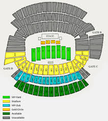 Cincinnati Music Festival Seating Chart 2017 Stadium Seating Chart Beverly Travel Services