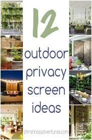 garden design with outdoor privacy screen ideas christinas adventures with nice backyards from christinasadventures com