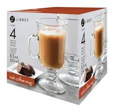 libbey irish coffee mug glasses