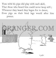lang nursery rhyme book tom tom the piper s son