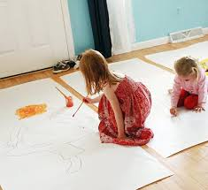Body Tracing Activity For Kids Awesome Full Scale