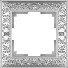 <b>Рамка Werkel Antik</b> на 1 пост жемчужный WL07-Frame-01 ...