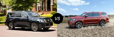 2020 Nissan Armada Vs 2020 Ford Expedition