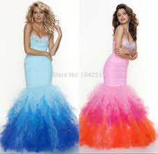 Light Pink And Light Blue Prom Dresses Buy Elegant Crystals Beaded Light Blue Pink White Long