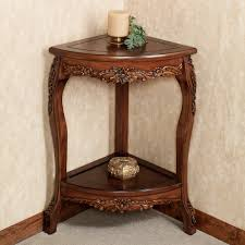 Corner Accent Table Classy With Storage