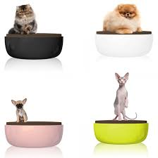 trendy cat furniture. petite sofa with chocolate cushion designer modern cat bed by pet baroque trendy furniture