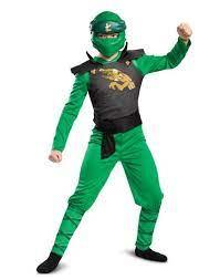 Lloyd Boys Child LEGO Ninjago Green Legacy Classic Halloween Costume-78 -  Walmart.com