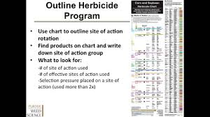 Herbicide Groups Chart How To Effectively Use The Corn And Soybean Herbicide Chart