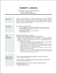 Career Objective Sample Resume Good Teller Resume Examples Are