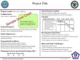 Project Title Sample Quad Chart Ppt Download